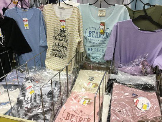 半袖Tシャツ399円均一!