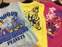 夏の部活にキャラクタードライTシャツ。