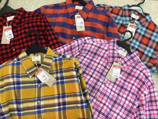 チェックシャツでカジュアルに着こなす秋。