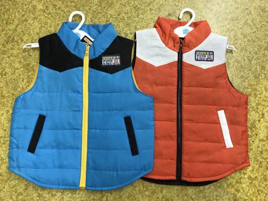 冬のジャケット、ベストがレジにて20%引き!